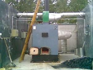 一炉两窑木材干燥机